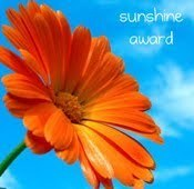Things I love Thursday (on Friday) and a Sunshine Award from Sarina at Earthgiven Kitchen.