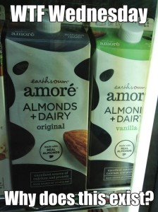 WTF earths own amore dairy plus almond