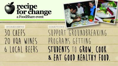 Recipe For Change 2014 – Vegan Stuff