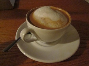 capucchino from CSI Coffee Pub