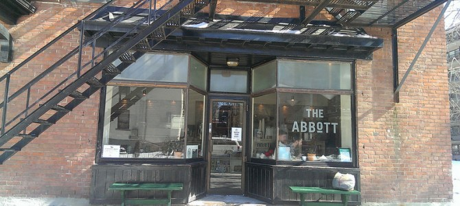 Coffee Monday – The Abbott – Indie Coffee Passport