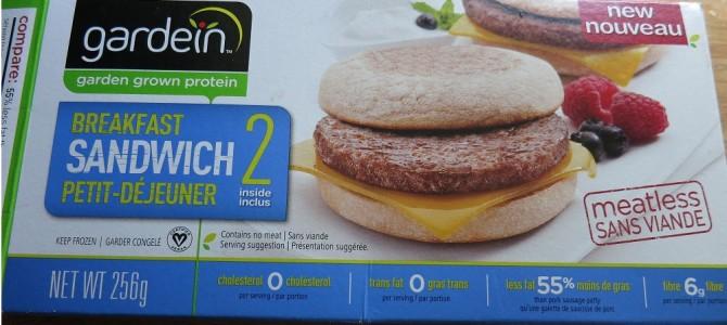 Lazy Vegan Friday – Gardein Good Start Breakfast Sandwich