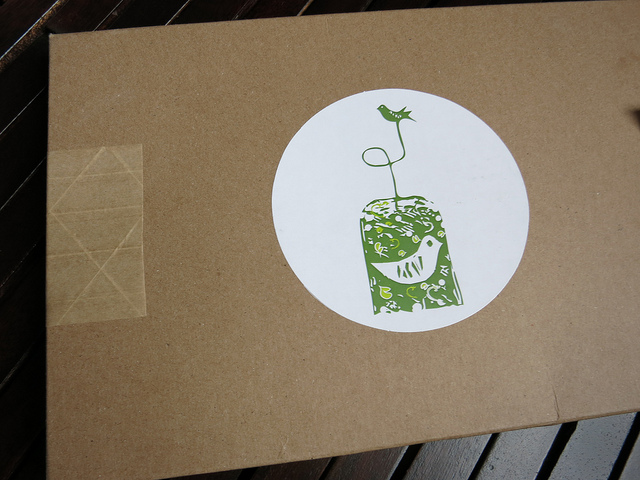 Tea Sparrow Box