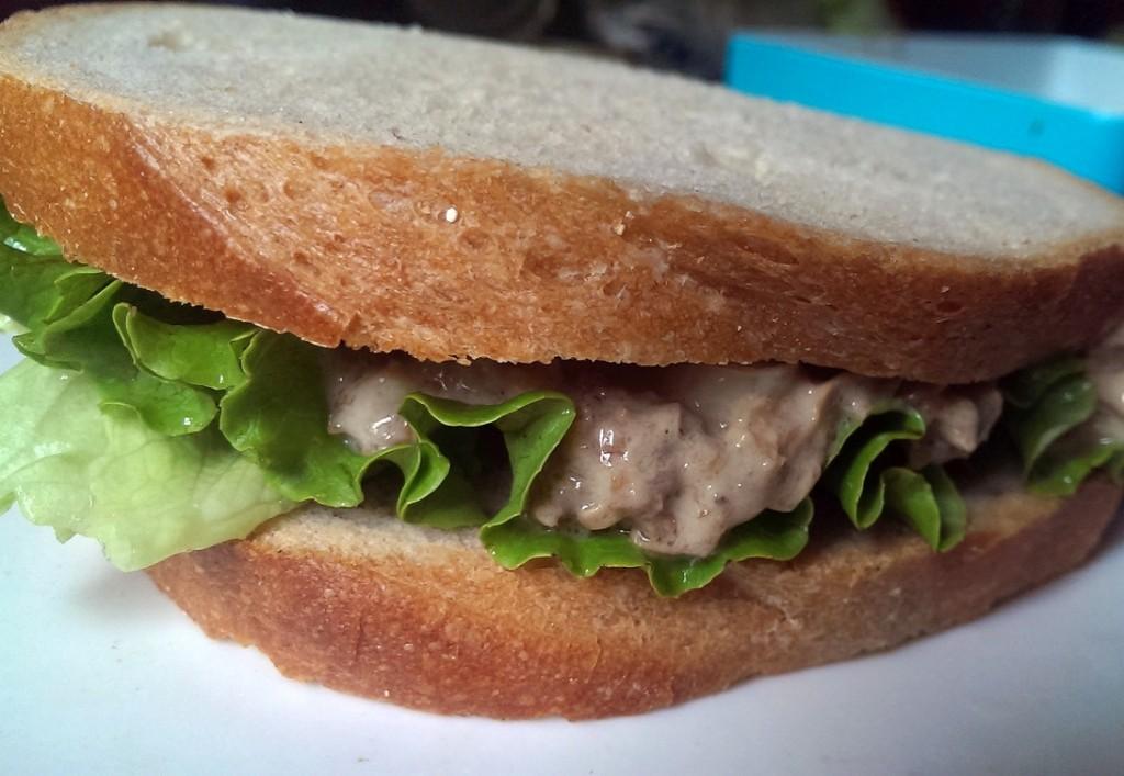 Vegan Toona Sandwich