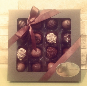 Vegan Truffle Box from Golden Apple Confectionary