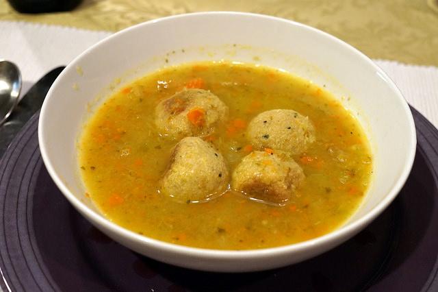 Matzoh Ball Soup Meshell Style