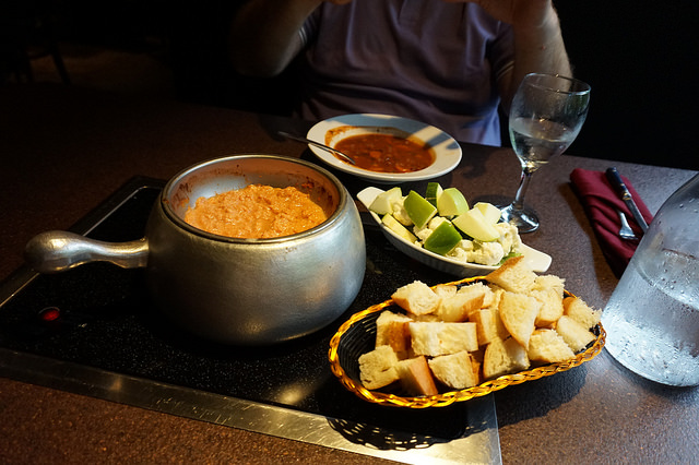 Vegan Cheese Fondue