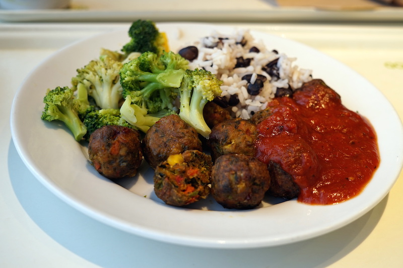 Vegan Veggie Balls from IKEA FOOD