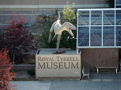 Drumheller, AB – Royal Tyrrell Museum – Roadtrip 2014