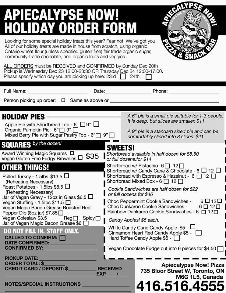 ApieCalypse Order Form