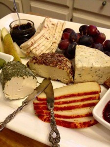 Ladyship vegan cheese board
