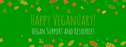 Veganuary and an offer of support and help