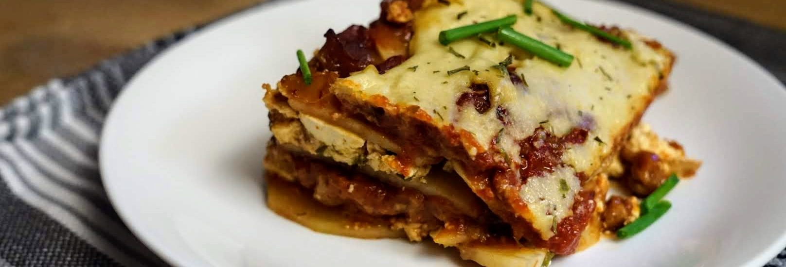 VeganMoFo – Potato Lasagna
