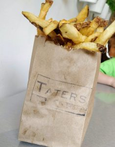 fries from Taters, Charlottetown, PEI
