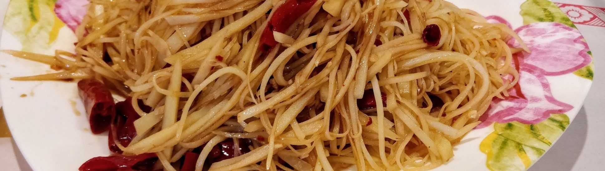 Vegan MoFo – Spicy and Sour Shredded Potatoes (Tu Do Si)
