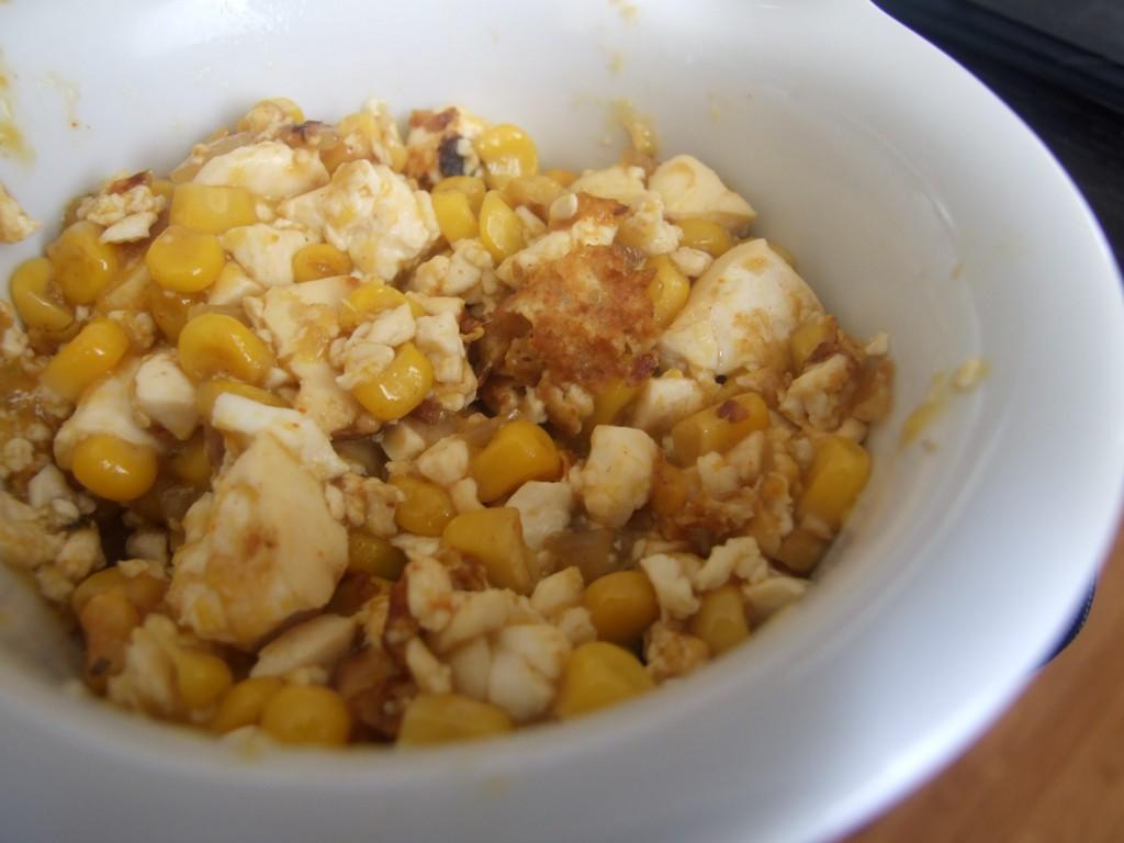 Tofu scramble with The Vegg