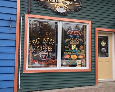Coffee on Manitoulin Island & in Tobermory