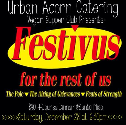 Festivus - Urban Acorn