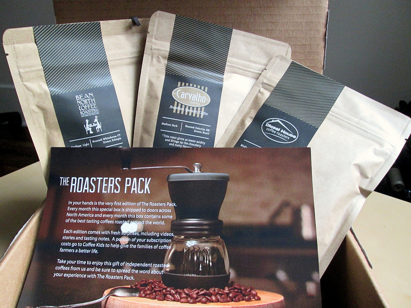 The Roasters Pack - Inside the Box