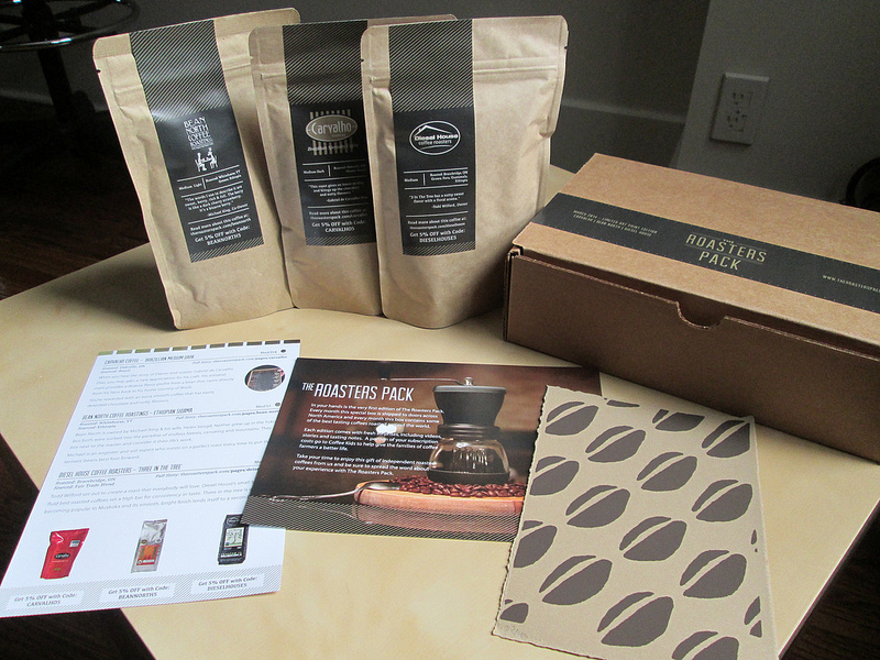 The Roasters Pack - everything in the box