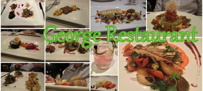 Vegan Tasting Menu at George Restaurant