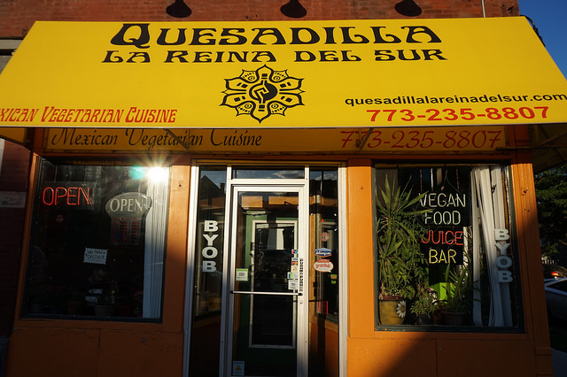 Quesadilla for Amazing Vegan Mexican Food in Chicago