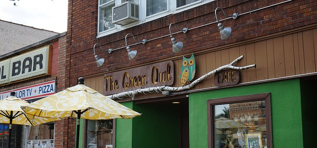 Madison, Wisconsin – The Green Owl