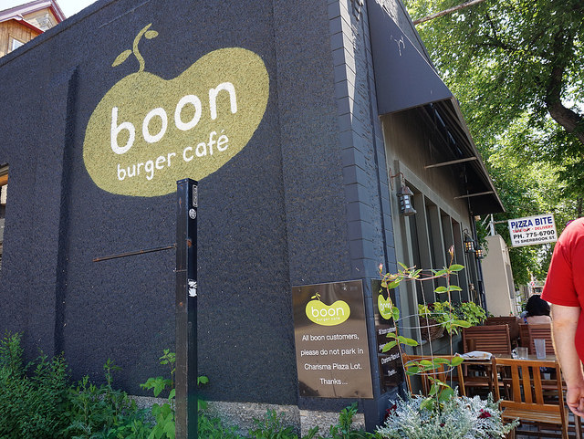 Vegan Roadtrip – Boon Burger in Winnipeg