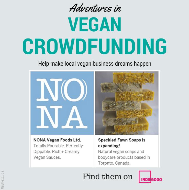 This month in Toronto Vegan Crowdfunding