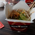 dandan tofu udon noodle box from wok box in lloydminster