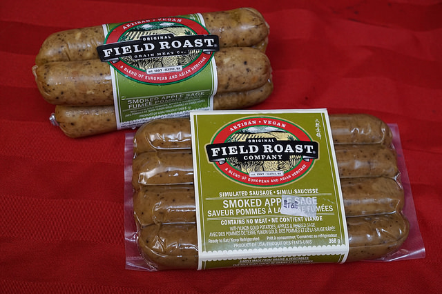 Field Roast Apple Sage Sausage – Then and Now.