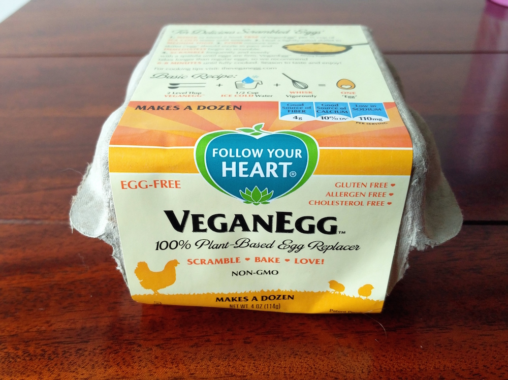 Lazy Vegan Friday – Vegan Egg from Follow Your Heart