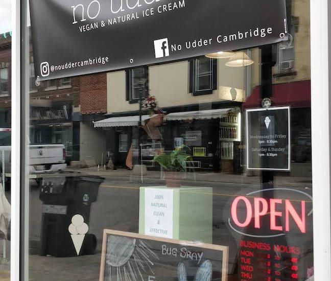 Cambridge, Ontario – No Udder Vegan Ice Cream